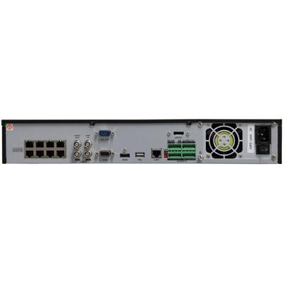 NVR,NVR,نمای پشت یک دستگاه NVR