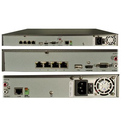 نمای-پشت-NVR,دستگاه NVR,ان وی آر,نمای پشت دستگاه NVR