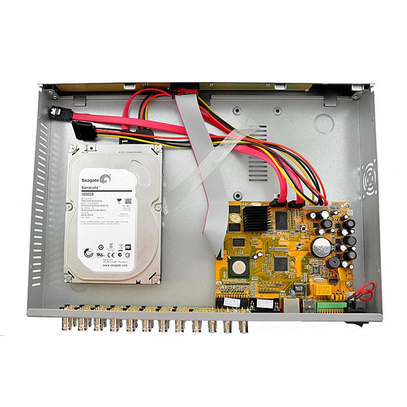 عکس-نصب-هارد-DVR,آموزش نصب هارد دوربین مداربسته,عکس اموزشی نصب هارد در دستگاه DVR