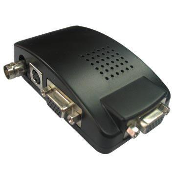 مبدل-CVBS-VGA,مبدل VGA به CVBS,مبدل VGA به CVBS