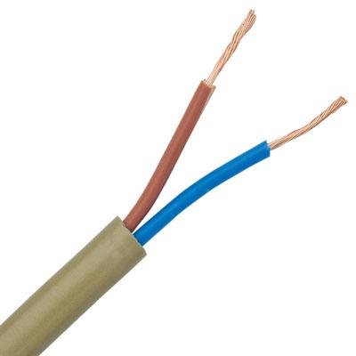 CCTV_Power_Cable,کابل,کابل برق,کابل برق 2*1 افشان با روکش PVC برای دوربین مداربسته