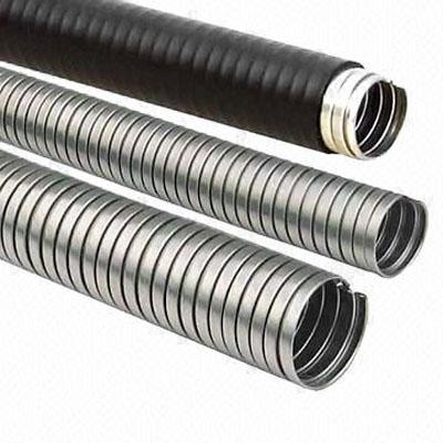 Flexible_Metal_Conduit,تجهیزات جانبی,متعلقات نصب,فلکسی,لوله فلکسی فلزی با روکش PVC