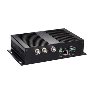 ویدئو_سرور,سیستم مداربسته انالوگ,سیستم مداربسته شبکه,تصویر یک ویدئو سرور تک کانال