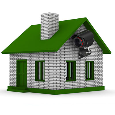 دوربین مداربسته در خانه