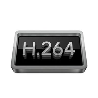 H264,ضبط سیستم مداربسته,لوگوی H264